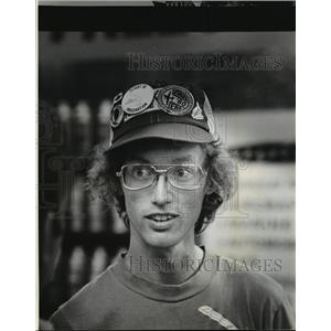 1980 Press Photo Bryan Allen, Pedal Power Aviator - mja05285