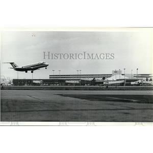 1981 Press Photo Spokane International Airport - spa21985