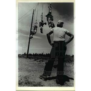 1980 Press Photo veteran smoke jumpers will drill the rookies - orb70837