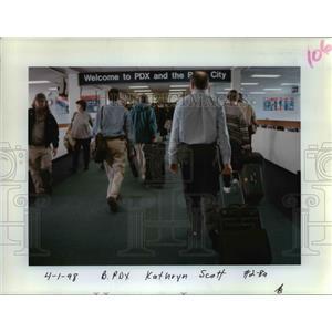 1998 Press Photo Portland International Airport - orb47294