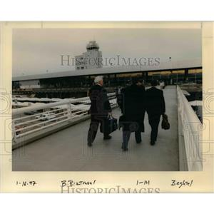 1997 Press Photo A scene at the Portland International Airport - orb36550