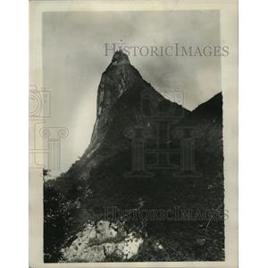 1931 Press Photo Christ the Redeemer on Corovado Hill, Rio De Janeiro