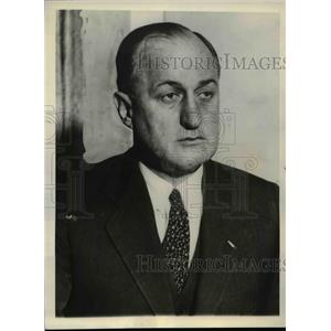 1935 Press Photo Col. Hob Hickett an assistant administrator for the PWA,