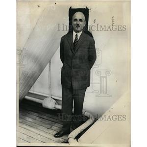 1930 Press Photo New York Polish ambassador to US Hon. Lytus Filipowicz NYC