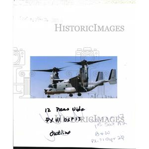 2000 Press Photo Osprey Helicopter - orb14195