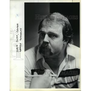 1984 Press Photo Blair Bush, Center Seattle Seahawks - orc15840