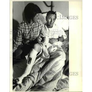 1979 Press Photo Malburn A McBroom with cast - ora53954