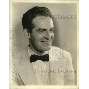 1934 Press Photo Fred Waring, Director, Pennsylvanians - mjx04282