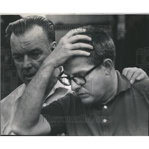 1968 Press Photo Airplane Crash Chicago