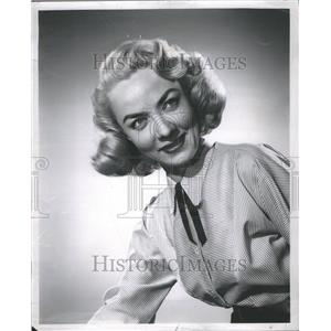 1963 Press Photo Audrey Mary Totter Actress