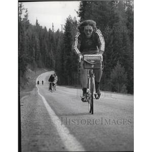 1978 Press Photo Biking in Nova Scotia - spa31159