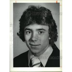 1978 Press Photo Dane Tussell High School Wrestling - cvb73427
