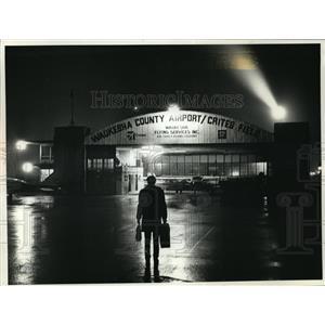 1990 Press Photo At Waukesha County Airport - mja21316