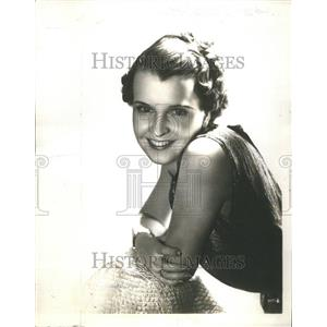 1936 Press Photo Marion Talley (Singer)