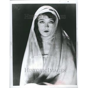 1976 Press Photo Lillian Gish Actress Long Career
