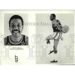 1974 Press Photo Jackie Jackson- Harlem Globetrotters - mjs03441