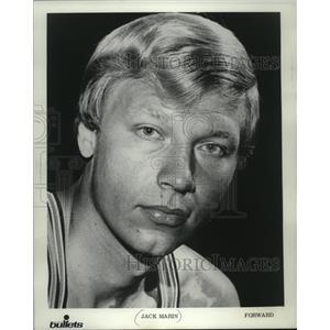 1970 Press Photo Jack Marin- Forward- Washington Bullets - mjs03709