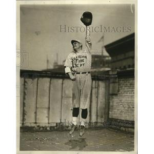 1923 Press Photo Otto Ohlrich at 1st Base - cvb77412