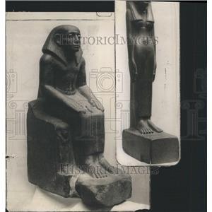 1911 Press Photo Chicago Field Musum Egypt Mummies - RRR59357