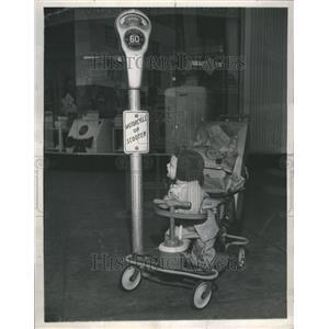 1949 Press Photo Donnie Corwell San Diego, Calif