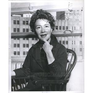 "1958 Press Photo Dolores ""Dody"" Goodman"