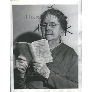 1939 Press Photo Mrs Emma Fox parliamentarian.