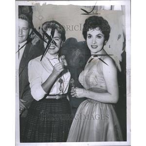 1954 Press Photo Gina Lollobrigida Actress