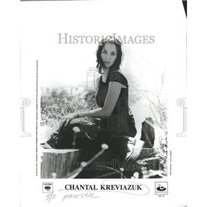 1911 Press Photo Chantal Jennifer Kreviazuk Musician So