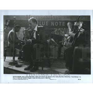 1938 Press Photo Dexter Gordon Dale Turner Jazz Paris