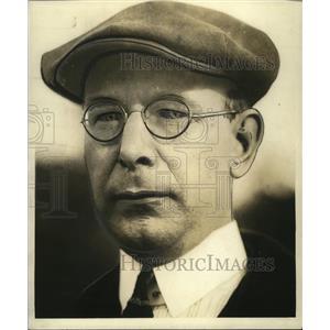 1923 Press Photo Ray Cochrane (coach) - cvb76938
