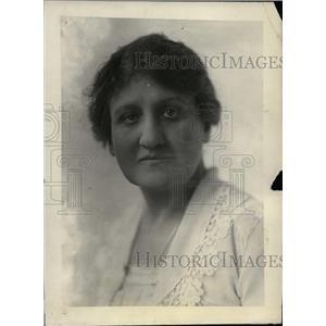 1920 Press Photo Clara Sears Taylor - nef32199