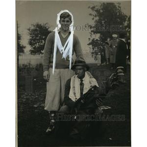1930 Press Photo Charles Seaver & Johnny Farrell at Long Beach Open - net26296