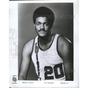 1977 Press Photo Maurice Lucas, forward, Portland Trail Blazers - nes52781