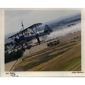 2000 Press Photo Portland Rose Festival - Air Show - orb50594