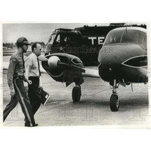 1968 Press Photo kidnapped pilot Donald Doran back in Miami from Cuba