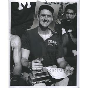 1959 Press Photo Stan Mullin Coach