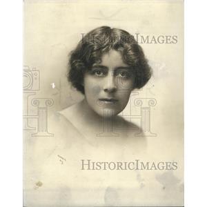 1919 Press Photo Edith Wynne Matthison Actress