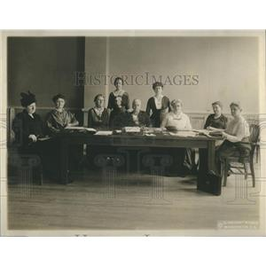 1917 Press Photo Woman's Committee Council National - RRR88655