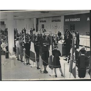 1963 Press Photo Dedication O'Hare Field