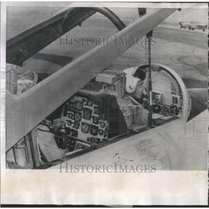 1957 Press Photo Instrument Panel Navy T2V-1 Jet - RRR22589