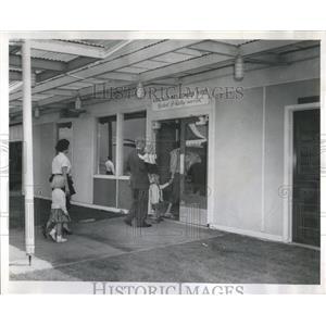 1960 Press Photo Customs House O'Hare Field