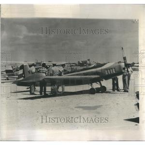 1962 Press Photo Cuban flies plane  Florida