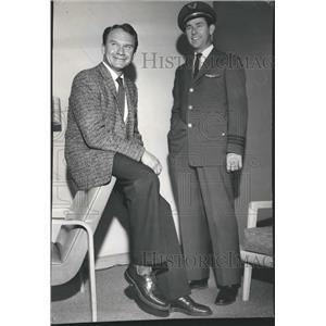 1958 Press Photo Herbert Nywening Airlines Pilots