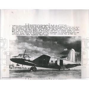 1953 Press Photo Hover Rotorcraft Type Lift One Rotor