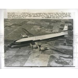 1960 Press Photo Run Airport Charter Township Michigan