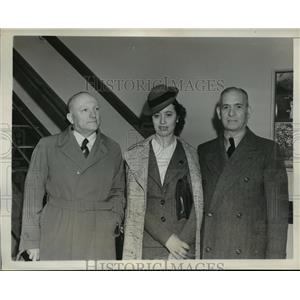 1939 Press Photo New York Italian Notables arrive for Worlds Fair NYC