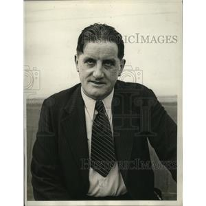 1934 Press Photo Dr Ernst Hanfstaengl Nazi Aid Arrives in New York - nef53337