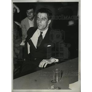 1934 Press Photo Fritz Gissible at House Nazi Investigation, Washington, D.C.