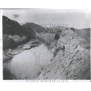1962 Press Photo Medicine Bluffs Oklahoma Fort Site