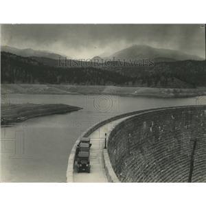 1902 Press Photo Cheesman Dam